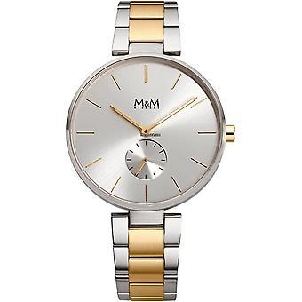 M&M Germany M11923-362 Flat design Women's Watch