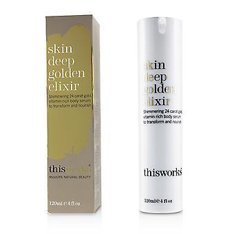Skin deep golden elixir 233541 120ml/4oz