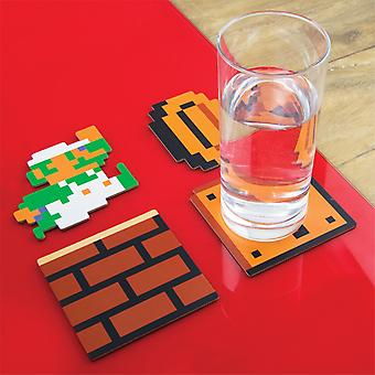 Super Mario Bros Coaster20 kpl
