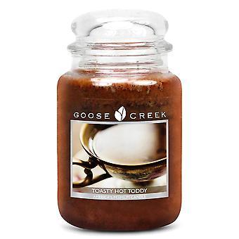 Goose Creek 24 uncji duże pachnące 2 Wick Christmas świeca słoiki