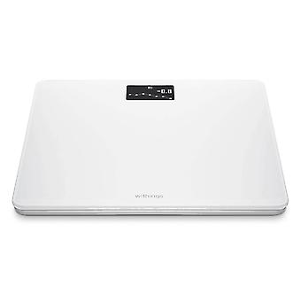 Wifi & Bluetooth Smart Scale 8 Users- Withings Body, White
