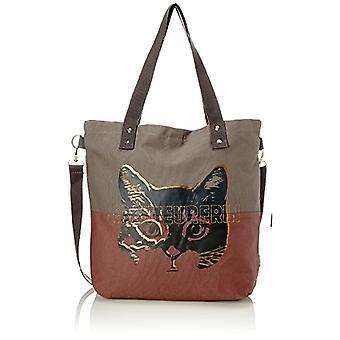 Adelheid Abenteurerin Einkaufstasche - Grey Women's Bag (Taupe) 10x39x44cm (B x H T)