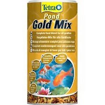Cibo per pesci Tetra Pond Mix oro
