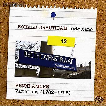 L.V. Beethoven - Beethoven: Obra completa para Piano Solo, Vol. 12 - Venni Amore [SACD] USA importar