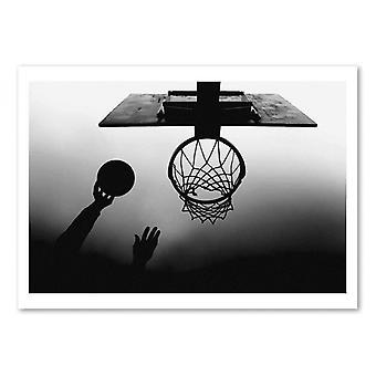 Art-Poster - Basketball - Paulo Medeiros