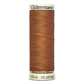Gutermann Sew-all 100% Polyester Thread 100m Hand and Machine Colour Code  - 448