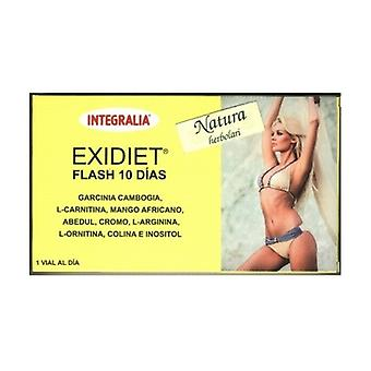 Exidiet Flash 10 Dias 10 frascos