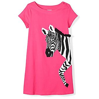 Marca - Spotted Zebra Toddler Girls' T-shirt de manga curta A-Line ...