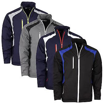 Sunderland Mens 2020 Valberg Waterproof Windproof Stretch Mesh Golf Jacket