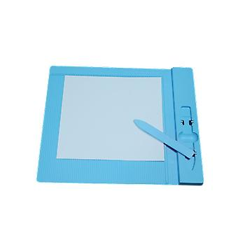 Plastic Score Grooving Board For Scrapbooking Paper Craft Card Making Envelope