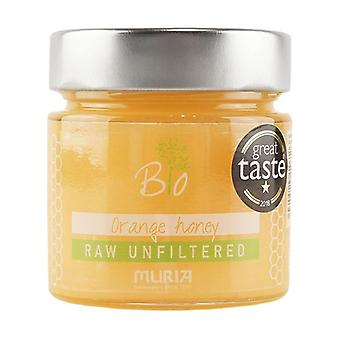 Raw honey orange blossom Spain 320 g