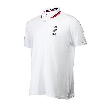 England Cricket Polo Shirt Mens