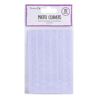 Dovecraft Essentials Photo Corners Transparent