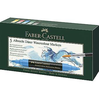 Faber Castellin akvarellimerkki Albrecht Dürer Box (5kpl) (FC-160305)