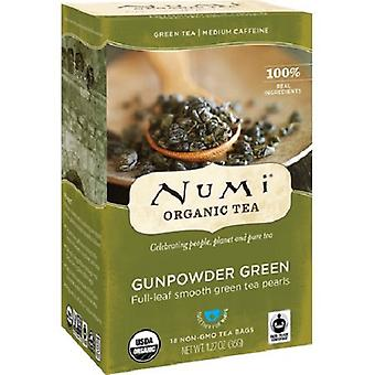 Numi Organic Tea Gunpowder Green Tea Bags