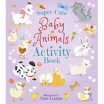 SuperCute Baby Djur Aktivitet Bok av Lisa Regan