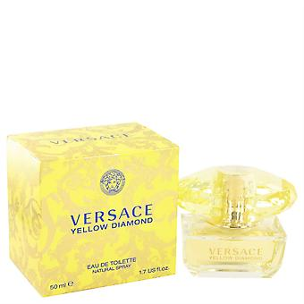 Versace Yellow Diamond Eau de Toilette Spray 50 Ml di Versace