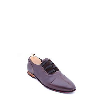 Leather brown men's shoes | wessi