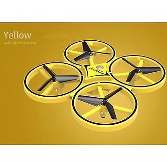 Mini Quadcopter Induction Drone - Smart Watch Remote Sensing Aircraft Ufo