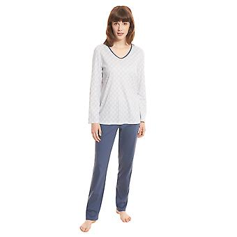 Rösch Smart Casual 1203545-15645 Women's Graphic Minimal Pyjama Set