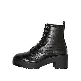 Vero Moda Women's Tess Chunky Lace-Up Boots
