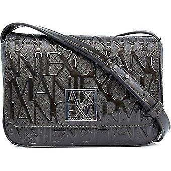 Armani Exchange Small All Over Logo Bag