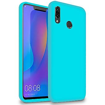 Soft Thin Mobile Case for Xiaomi Redmi Note 7 / Note 7 Pro (India) TPU Turquoise