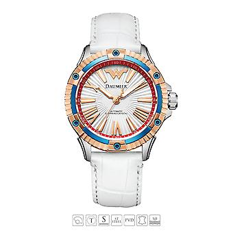 Luxe Automatique Analog Justice League Wonder Woman Watch pour femme 02
