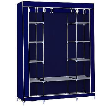 Herzberg HG-8009: Garde-robe - Bleu