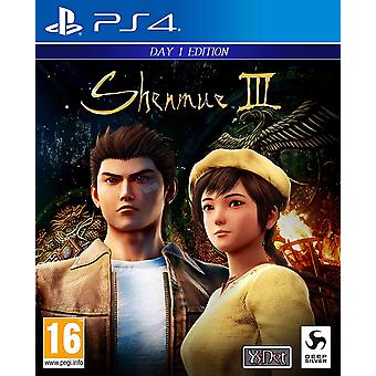 Shenmue III Day 1 Edition PS4 Game