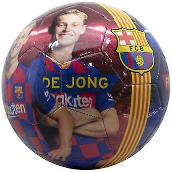 Barcelona De Jong Photo Football