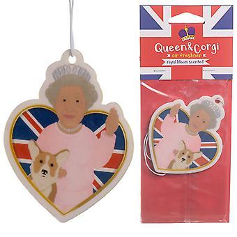 Royal Bloom duftende Königin und Corgi Lufterfrischer X 1 Pack