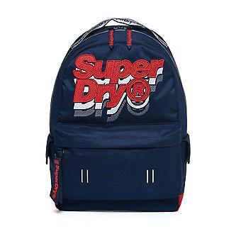 Superdry Jacky Montana Backpack - Dark Navy Marl