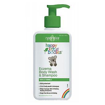 Natralia Eczema Body Wash & Shampoo, 6 fl oz