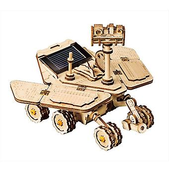 3d Laser Cutting Wooden Model Building Kits-vegabond Rover, Solar Energy Toy