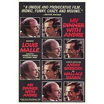 My Dinner with Andre Movie Poster Print (27 x 40)