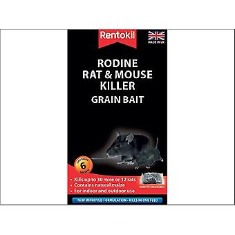 Rentokil Rodine Rat & Mouse Killer Grain x 6 PSMR13