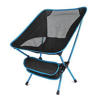 Camping opvouwbare draagbare lichtgewicht stoel voor kantoor, huis, wandelen, picknick,