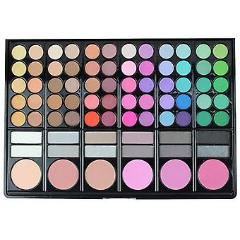 Waterproof Eyeshadow Pallete Professional Lip Gloss Kits Blush Foundation Make