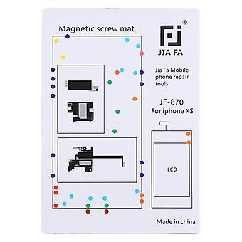 JIAFA JF-870 Magnetic Pad Screw Board pour iPhone XS