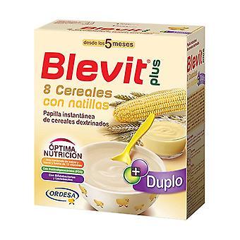 Blevit Plus Duplo 8 Cereals with Custard 5m + 600 g
