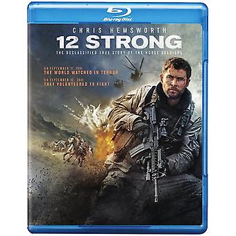 12 Strong [Blu-ray] Importation aux États-Unis
