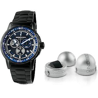 Momo design watch pilot pro chrono quarzo md2164bk-20