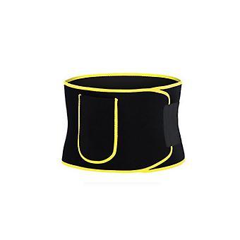 Sport Fitness Waistband Small Pocket Desigh Back Supporter Waist Trimmer Belt
