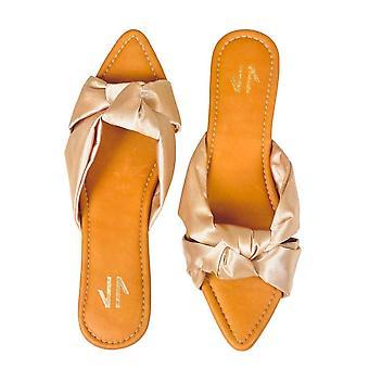 Sandale plate Silvia Cobos Love Bej