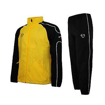 Nike Mens ποδόσφαιρο φόρμα φόρμα παντελόνι κορυφή σακάκι σαλόνι αντιανεμικό 194117 70