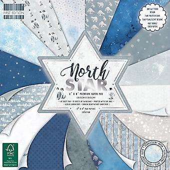Primera edición North Star 8x8 pulgadas de papel Pad