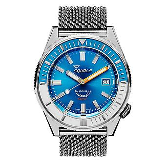 Squale MATICXSE.ME22 600 Meter Swiss Automatic Dive Wristwatch Mesh