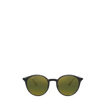 Ray-Ban RB4336CH transparente graue unisex Sonnenbrille