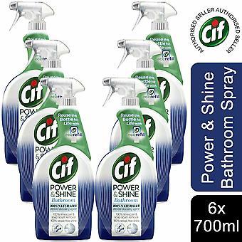 CIF Power and Shine Bathroom Spray, 700ml